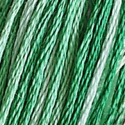 0125 Variegated Seafoam Green